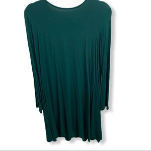 Old Navy Green Long-sleeve Dress Large Tall